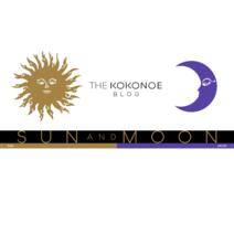 THE KOKONOE BLOG SUN & MOON デザインについて